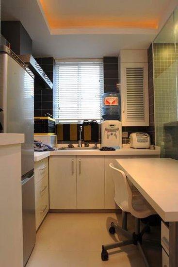 kitchen disposal crown molding cabinets 老房子装修效果图 30平米一居室超强变身_频道-合肥_腾讯网
