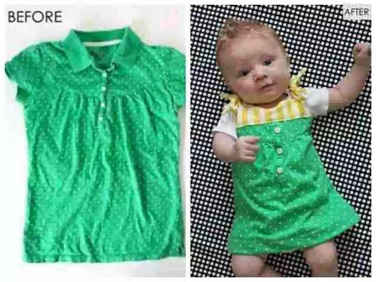 舊衣改造讓寶寶穿上你的衣服_新聞_騰訊網