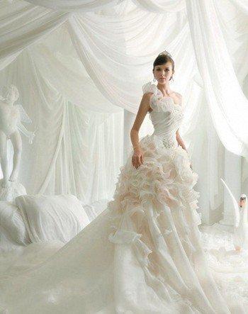 小胸平胸新娘如何挑選適合自己的婚紗款式_大申網_騰訊網
