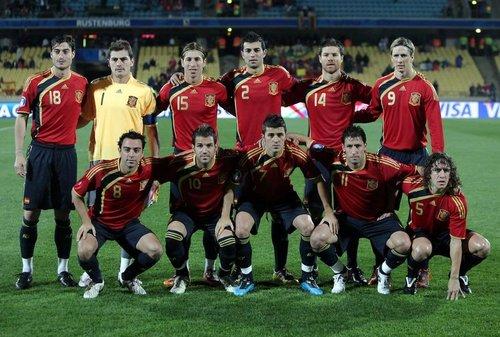 圖文:西班牙國家男子足球隊_國際足壇_體育_騰訊網