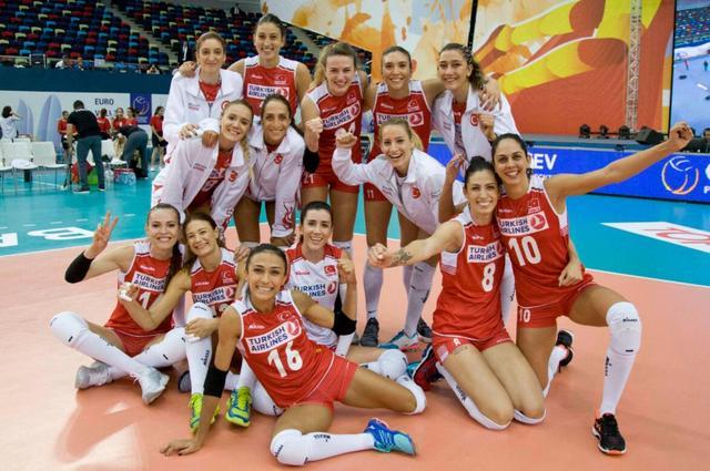 女排歐錦賽土耳其進八強 再戰俄羅斯不容樂觀_體育_騰訊網
