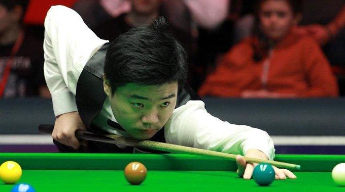 丁俊暉單桿破百 晉級威爾士賽32強