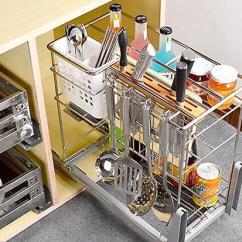 Kitchen Pulls Bar Stools Counter Height 厨房拉篮怎么用 厨房拉