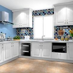 Kitchen Countertop Decor Base Cabinets Unfinished 整体橱柜效果图大全