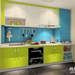 Best Kitchen Cabinets Black Round Table 烤漆厨柜效果图