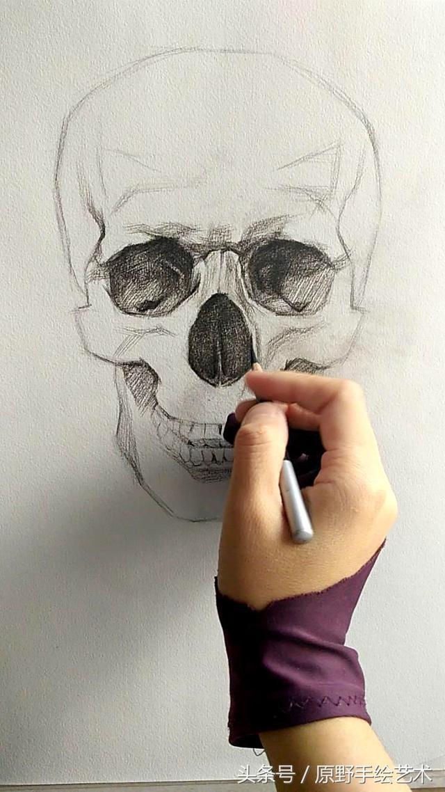 骷髏。畫好人像的基礎。頭骨的畫法 - 愛經驗