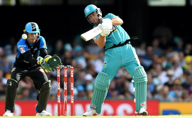 Recent Match Report Adelaide Strikers Vs Brisbane Heat