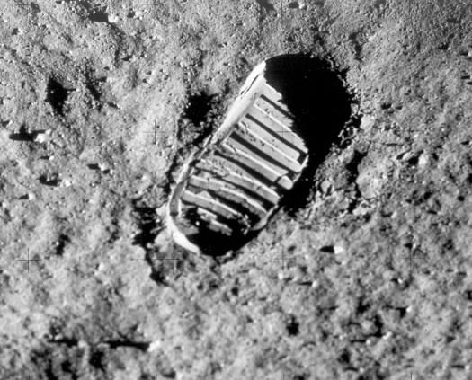 Pegada do homem na Lua
