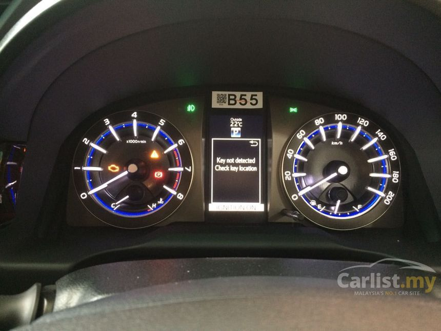speedometer all new kijang innova grand avanza tampak belakang toyota 2017 e 2 0 in kuala lumpur automatic mpv silver for rm