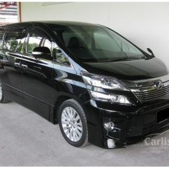 All New Vellfire 2020 Is The Camry Wheel Drive Toyota 2013 Z Platinum 2 4 In Selangor Automatic Mpv Black
