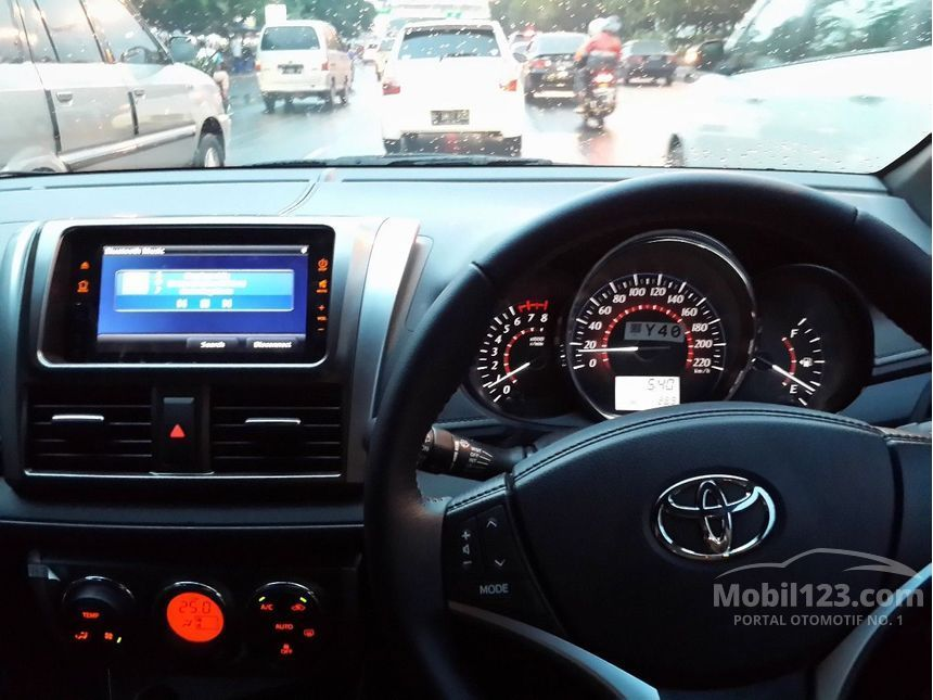 toyota yaris trd sportivo interior all new camry hybrid review jual mobil 2017 1 5 di dki jakarta hatchback