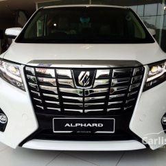 All New Alphard Executive Lounge Dashboard Grand Veloz Toyota 2017 3 5 In Kuala Lumpur Automatic Mpv
