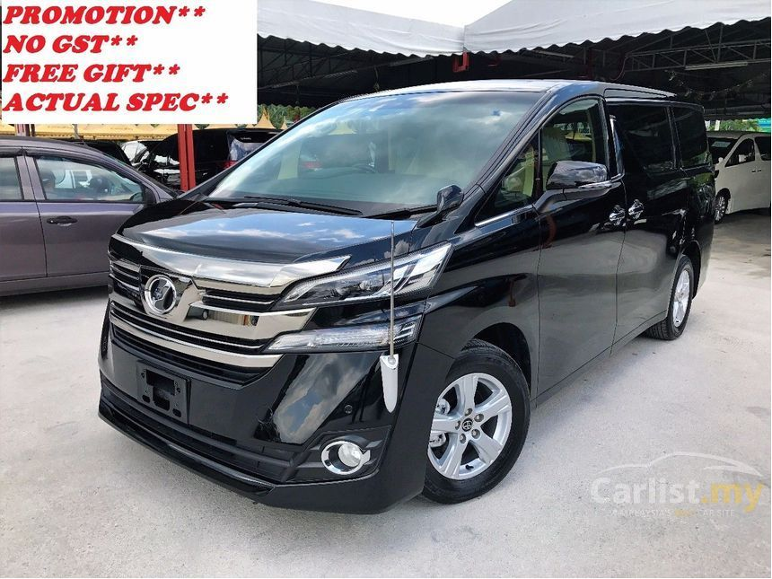 all new vellfire price simulasi cicilan grand avanza toyota 2015 x 2 5 in kuala lumpur automatic mpv black for