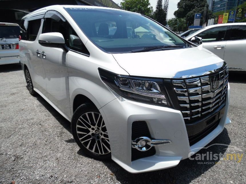 all new alphard facelift harga kijang innova venturer toyota 2016 g s c package 2 5 in kuala lumpur automatic mpv sc car condition price include gst unregistered