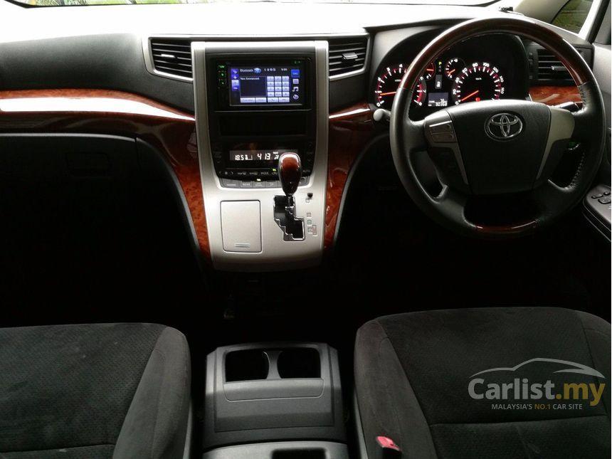 all new vellfire interior ukuran wiper grand avanza toyota 2010 z platinum 2 4 in kuala lumpur automatic mpv black with power boot
