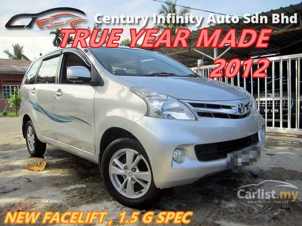harga grand new avanza second kredit 2018 search 1 515 toyota cars for sale in malaysia carlist my