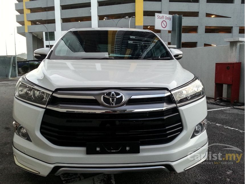all new kijang innova 2.0 g grand avanza 1.3 m/t basic 2018 toyota 2 0 in selangor automatic mpv silver for rm