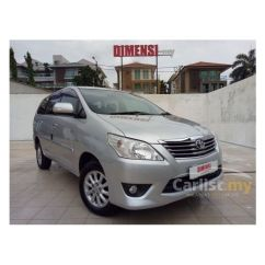 Dimensi All New Kijang Innova Toyota Camry Philippines 2012 G 2 0 In Kuala Lumpur Automatic Mpv Silver For Rm