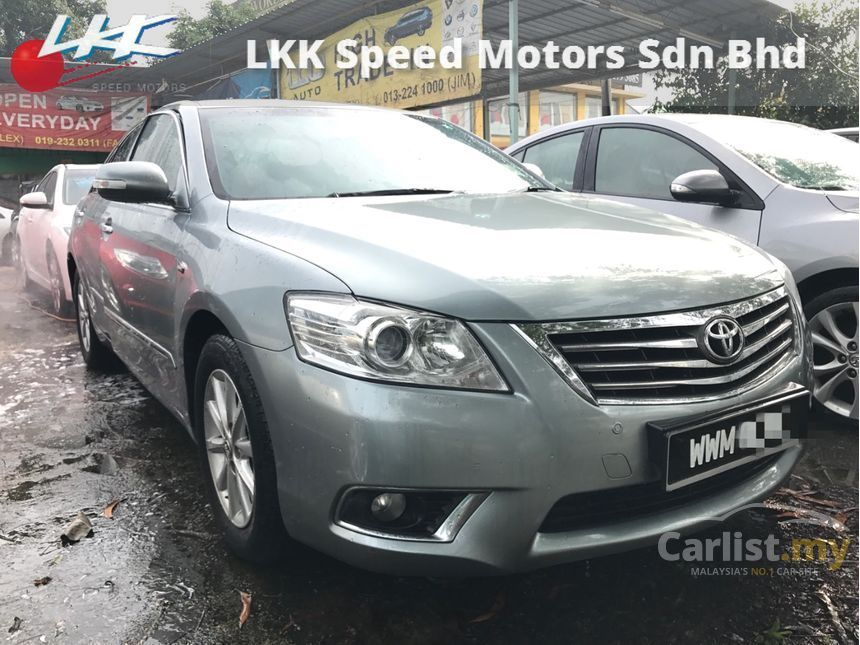 toyota all new camry 2012 singapore g 2 0 in kuala lumpur automatic sedan grey for rm
