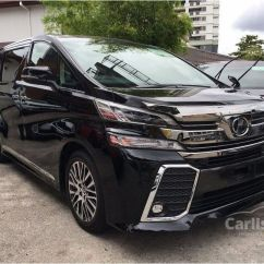 Toyota All New Vellfire 2.5 Zg Edition Camry L A/t Hybrid 2015 2 5 In Kuala Lumpur Automatic Wagon Black For