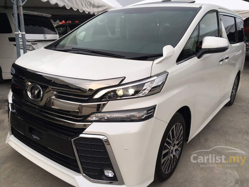 all new vellfire price jual spoiler grand avanza toyota 2016 2 5 in selangor automatic mpv white for rm