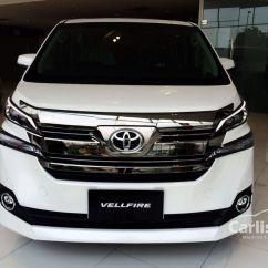 Harga All New Vellfire 2017 Spesifikasi Grand Veloz Toyota 2 5 In Labuan Automatic Mpv Others For Rm
