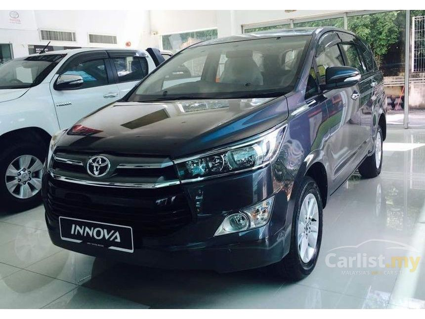 all new kijang innova 2.0 g grand avanza 2017 price in bangladesh toyota 2016 2 0 putrajaya automatic mpv grey for rm