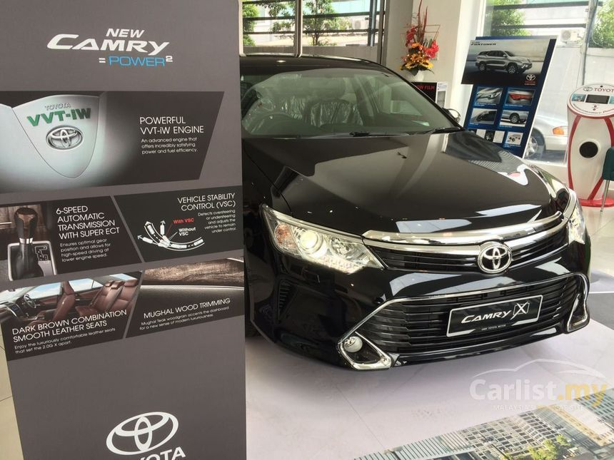 all new camry singapore toyota yaris trd 2017 indonesia g x 2 0 in kuala lumpur automatic sedan black for