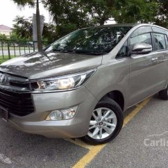 All New Kijang Innova 2.0 G Brand Toyota Camry Engine 2017 2 0 In Putrajaya Automatic Mpv Silver For Rm