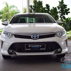 All New Camry 2016 2.5 L A/t Hybrid Toyota 2 5 In Selangor Automatic Sedan White For