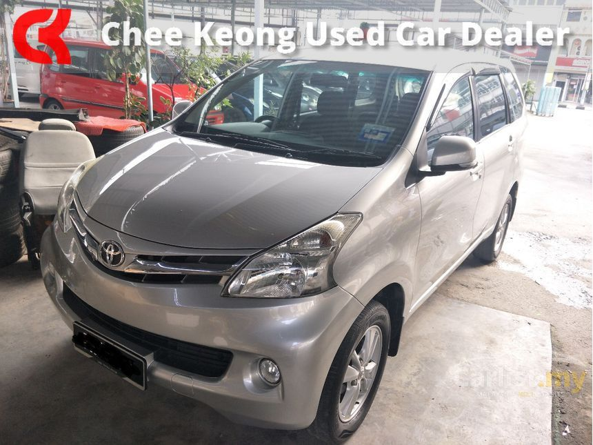 grand new avanza silver metallic limited toyota 2013 g 1 5 in perak automatic mpv for rm 43 800