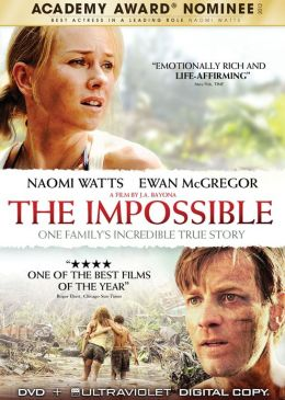 DVD cover for The Impossible
