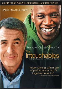 DVD cover for Intouchables
