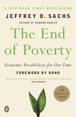 book cover for The End of Poverty
