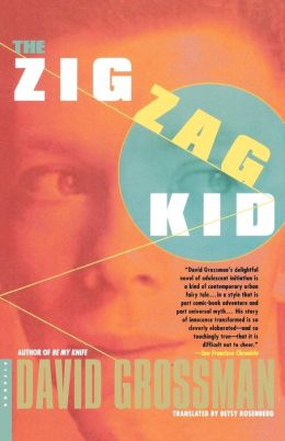 book cover for The Zig Zag Kid