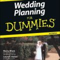 Wedding planning for dummies by marcy blum 9780764556852 paperback