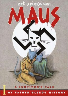 book cover for Maus