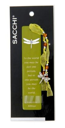 Dream Dragonfly Green Wooden Bookmark By Swing Ltd