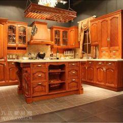 Kitchen Cabints Braun Appliances 2013实木橱柜装修效果图大全【组图】(3) - 新闻中心 九正建材网