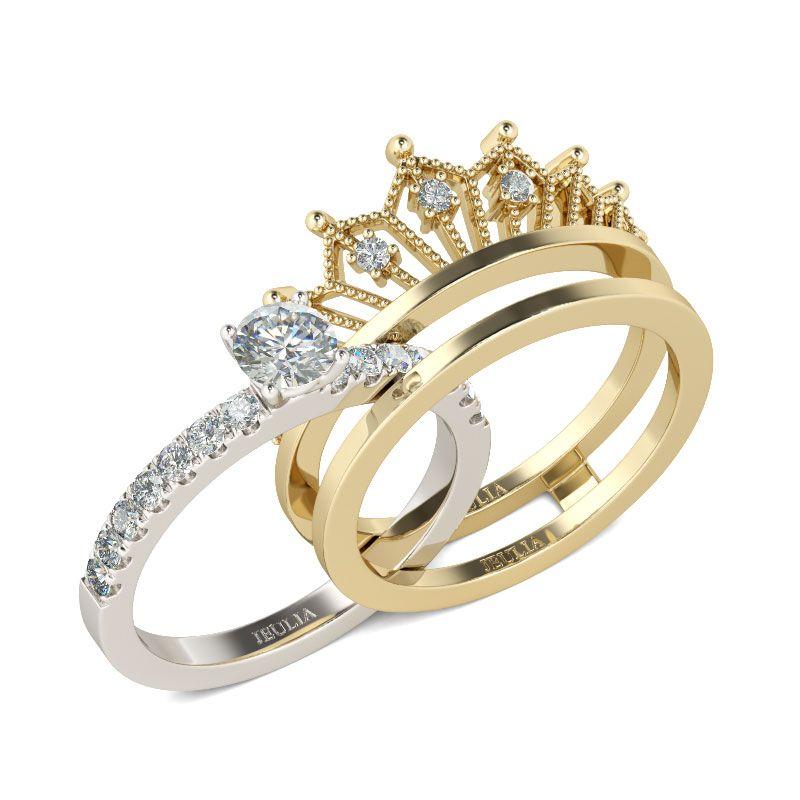 Ring set silver  Modeschmuck