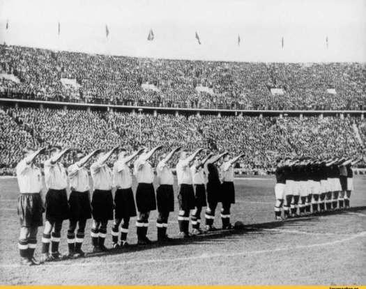 футбол,старые фото,нацизм