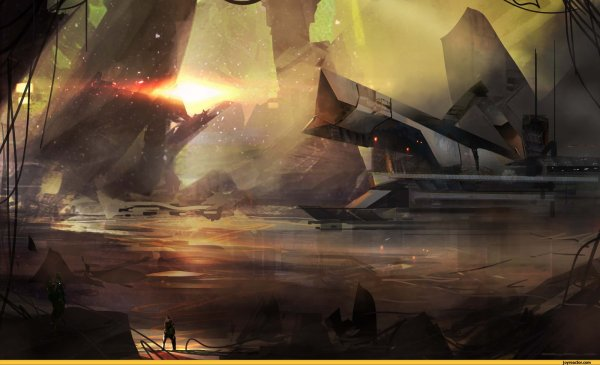 Sci-fi Cloudminedesign Art Beautiful