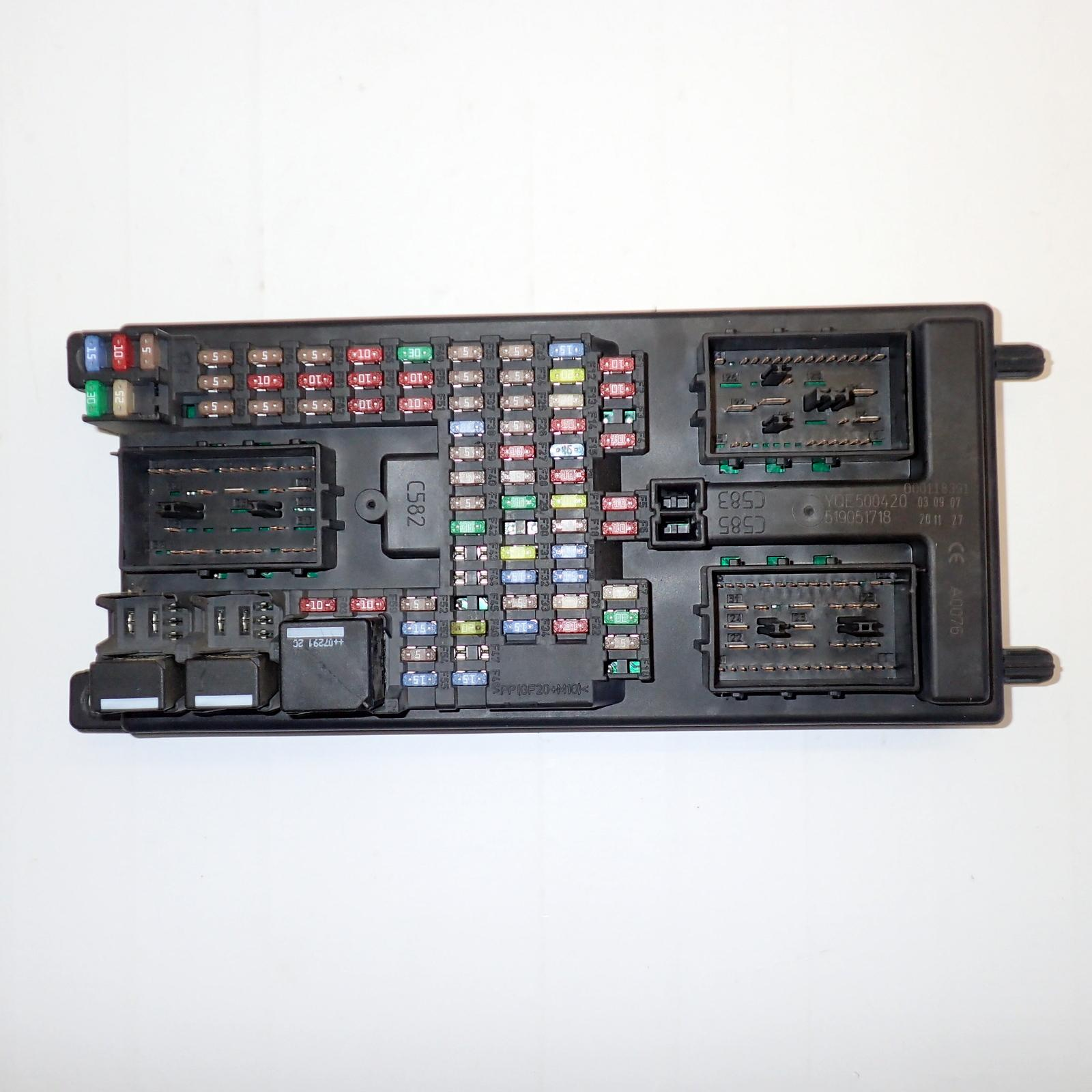 hight resolution of defender fuse box ebay wire management wiring diagram defender fuse box ebay