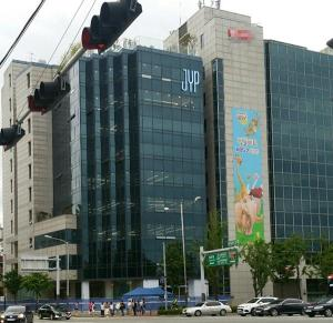 jyp entertainment building location hq moved star reasons why kpopmap instiz hotel