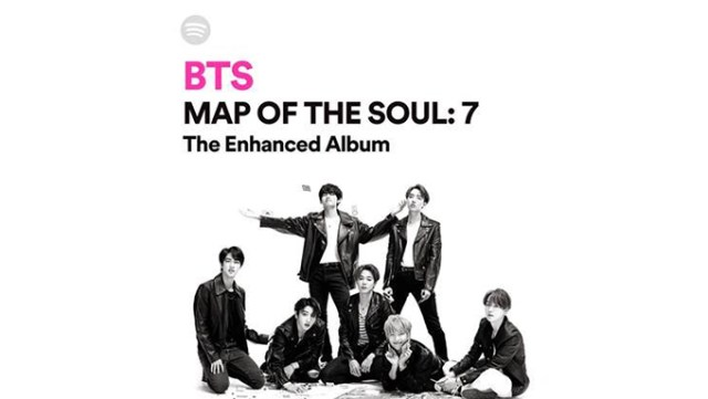 Image result for Map Of The Soul special edition with sportify