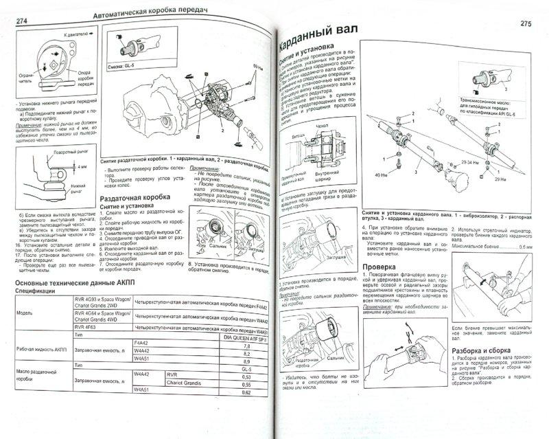 Mitsubishi Chariot Grandis Руководство По Ремонту