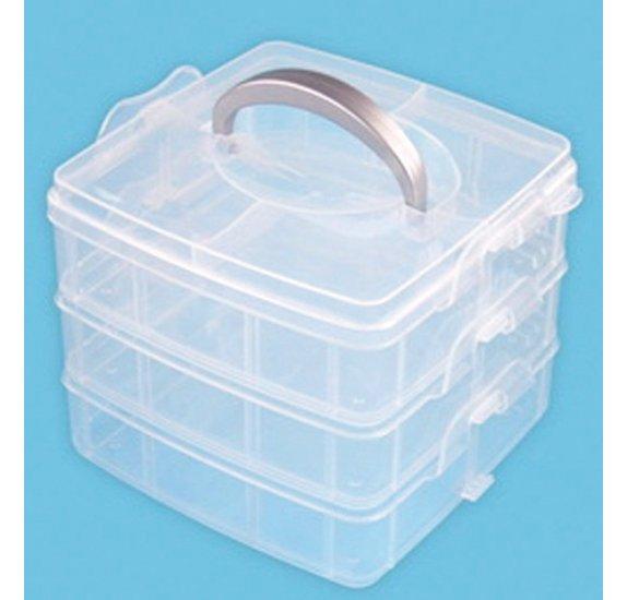 boite a compartiments la fourmi 3 etages 15x15x12 5 cm