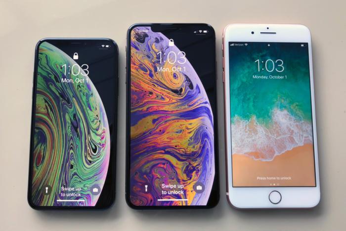 test apple iphone xs xs max il est
