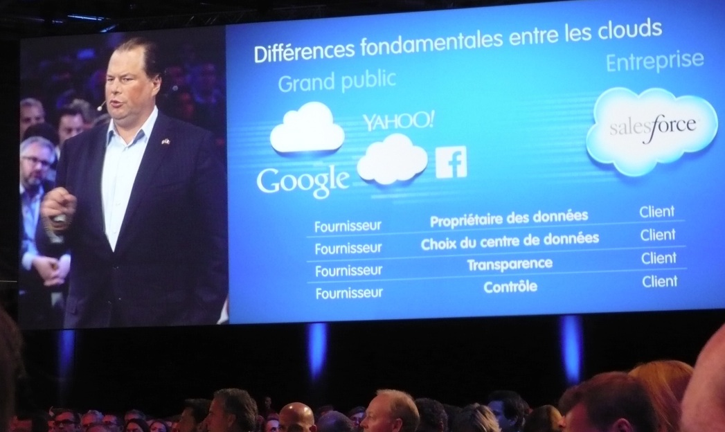 Marc Benioff à Paris