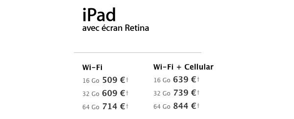 Quand Apple tue le Nouvel iPad